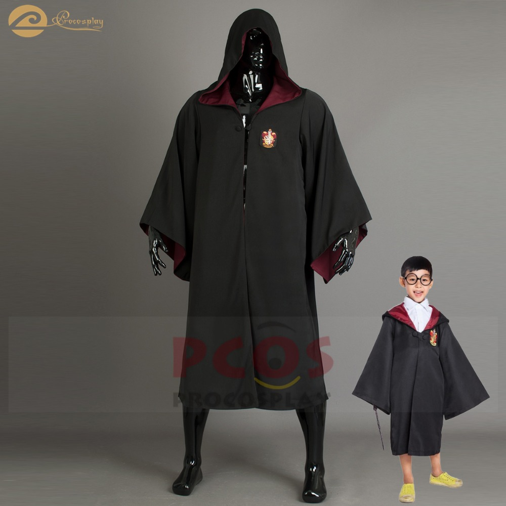 Manteau uniforme d'école Procosplay costume Cosplay Cape gryffondor poudlard costume de cosplay magique d'école Harri Potter Cape mp004118