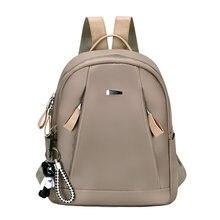 8e5f1ae6f21b Женская уличная обувь модные сумки Дамы Досуг Повседневная  водонепроницаемый рюкзак для девочек-подростков нейлон ткань