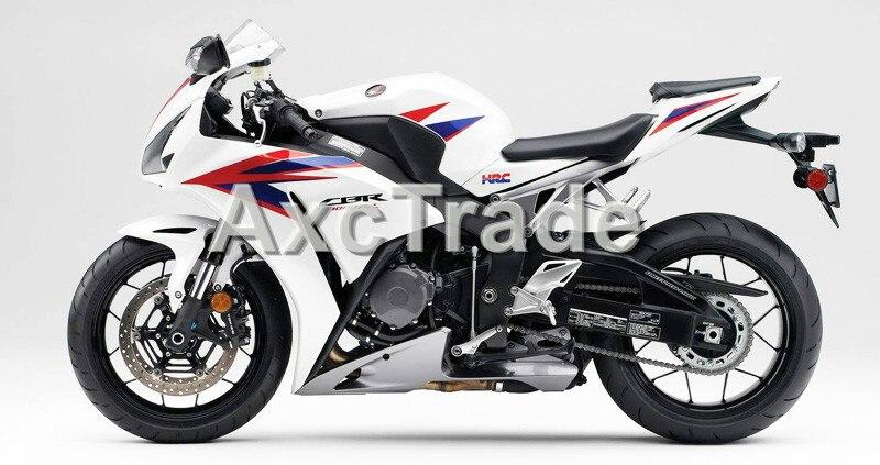 Мотоцикл Обтекатели для Honda CBR1000 CBR1000RR ЦБ РФ 1000 2012 2013 2014 12 13 14 АБС-пластик инъекции обтекатель набор Белый жемчуг