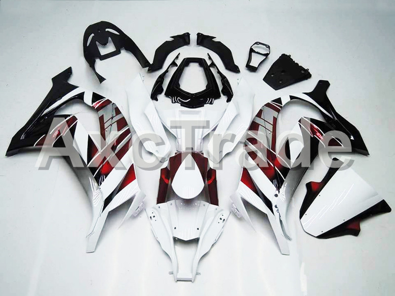 Motorcycle Fairings For Kawasaki Ninja ZX10R ZX-10R  2011 2012 2013 2014 2015 ABS Plastic Injection Fairing Bodywork Kit White B plastic fairings for kawasaki zx6r 2011 body kits 636 zx 6r 2010 2009 2012 white black bodywork zx6r 09 10