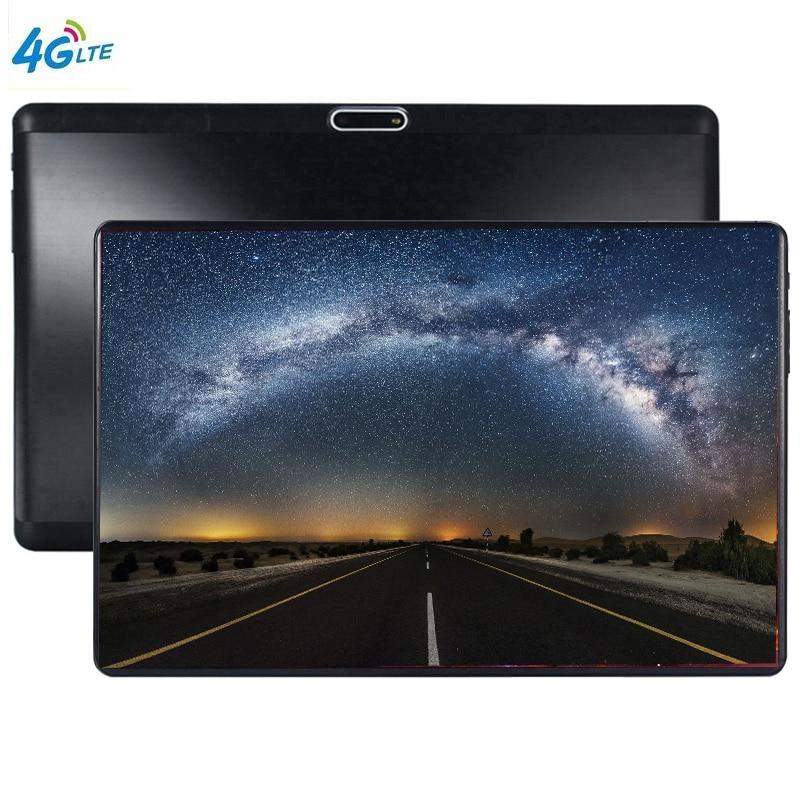 Tablette enfant 10 pouces 3G Wifi tablette PC Octa Core 6 GB RAM 64 GB ROM 1280*800 2.5D verre trempé IPS écran 10.1 Android 9.0