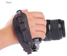 LYNCA e1s из искусственной кожи Камера Мягкая рукоятка наручные ремень с металлической Quick Release Plate для Canon Nikon pentax SLR DSLR