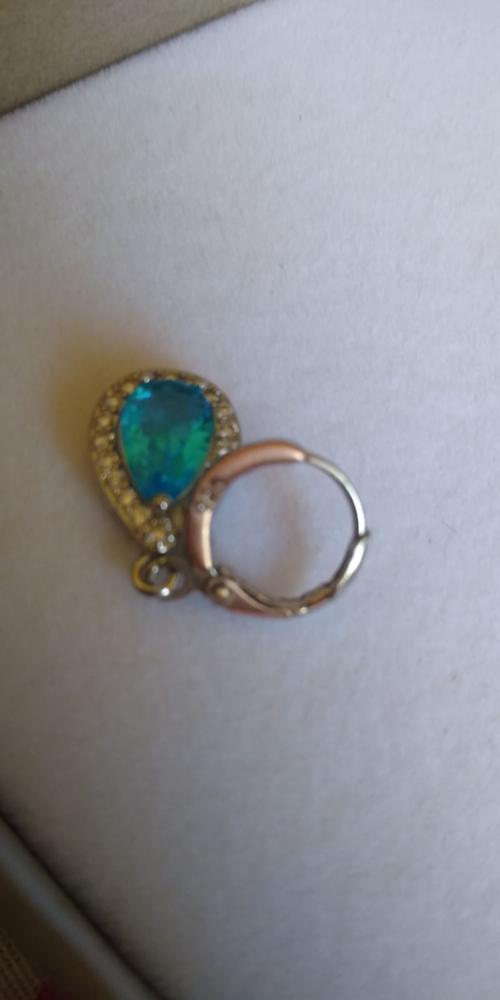 Water Drop Cubic Zirconia Jewelry Set photo review