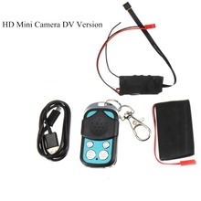 Mini DIY Camera HD 1080P Micro Camcorder Mini DV DVR Video Sound Recording Device 2.4G RF Size Control Video Shooting Remote two channel video input tc dvr mini dvr mini security dvr sd card recording remote control