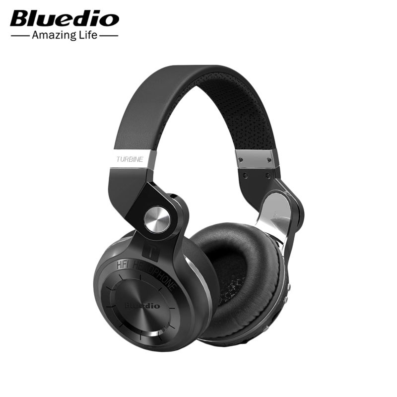 Headphones Bluedio T2 wireless orignal bluedio t2 foldable over the ear bluetooth headphones bt 4 1 fm radio