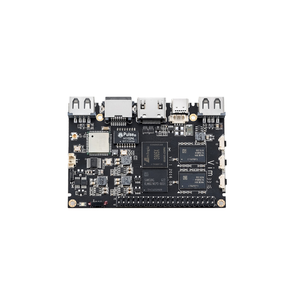 Khadas VIM1 Pro Quad Core ARM Development Board Amlogic S905X Open Source-in Demo Board from Computer & Office