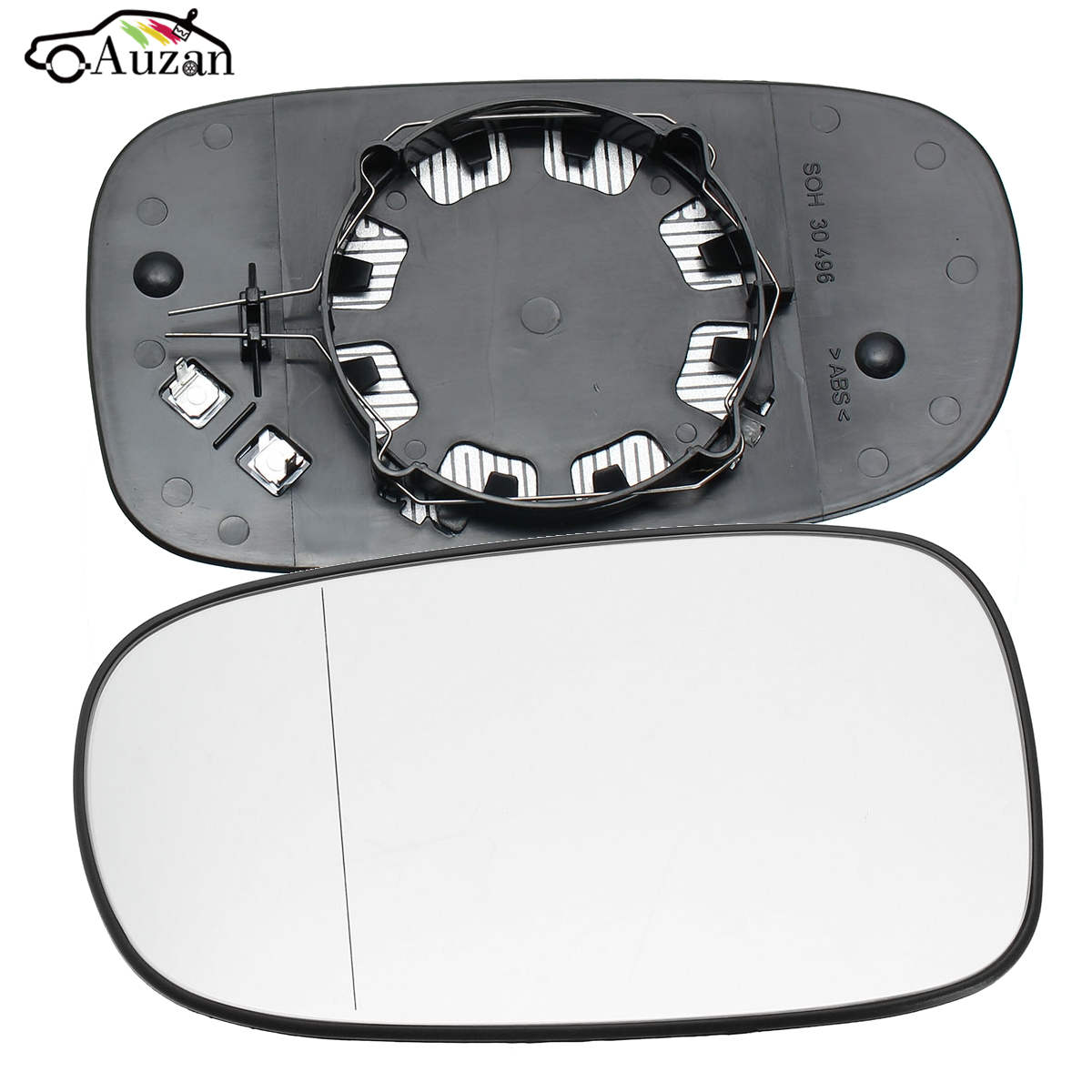 Right Driver side Wing door mirror glass for Mazda 3 2003-2009