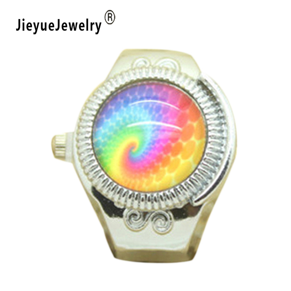 Fashion Stylish Finger Watch Ring style watches Creative Steel Round Elastic Quartz Finger Ring Watch Lady Girl Christmas gift fashion finger ring watch women girls rhinestone round elastic quartz ring watch trendy jewelry gifts ll 17
