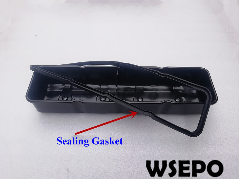 Top Quality! Head Valve Cover with Seal Gasket fits for 495/4100/4102/ZH4105 4 Cylinder Water Cooling Diesel EngineTop Quality! Head Valve Cover with Seal Gasket fits for 495/4100/4102/ZH4105 4 Cylinder Water Cooling Diesel Engine