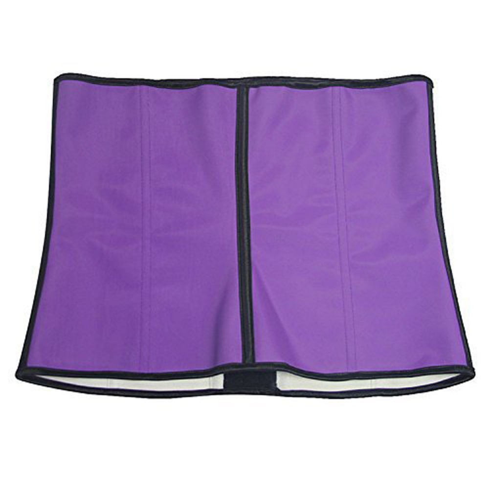 Latex Shapers waist trainer Slimming Belt corset slim modeling strapsThree Layers Cloth Waist Abdomen Corset 6 Plus Sizes