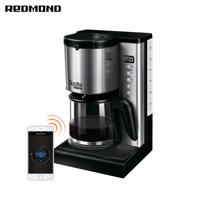Smart coffee maker Redmond SkyCoffee M1519S bread maker redmond rbm m1911 free shipping bakery machine full automatic multi function zipper