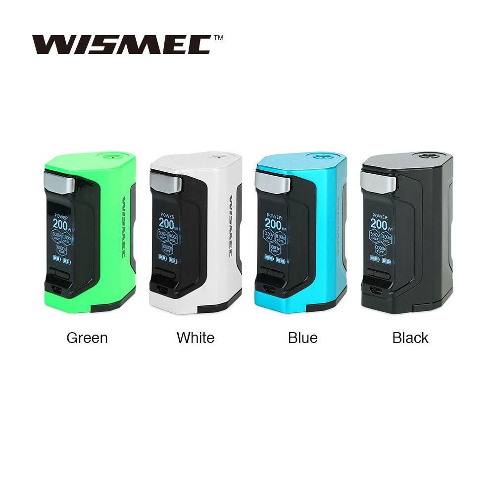 Nouveau 200 W WISMEC Luxotic DF TC boîte MOD avec 200 W énorme puissance et 1.3 pouces affichage Squonk Mod No 18650 batterie Vs Luxotic BF/RX GEN3