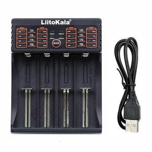 Image 5 - Liitokala Lii 100 Lii 202 Lii 402 1.2V 3.7V 3.2V 3.85V AA/AAA 18650 18350 26650 10440 18350 NiMH bateria litowa inteligentna ładowarka