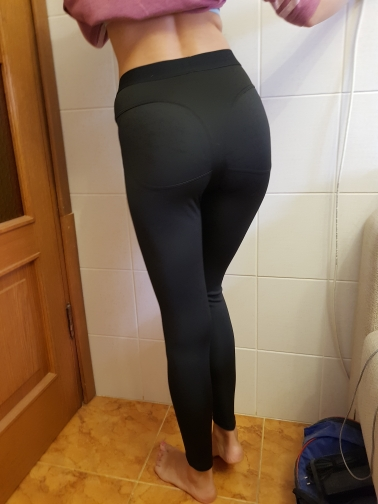 b9b2d805d High Waist Fitness Booty Push Up Tights – Fit For A Belle