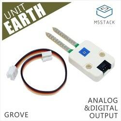 M5Stack oficjalny moduł ziemi gaj kompatybilny monitorowanie gleby analogowe i wyjście cyfrowe