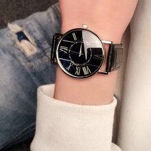 Homens de negócios assistir relógio de Forma Da Mulher 2018 feminino Relogio Relojes pará hombre relógios Casal Relógio Presentes Zegarek damski