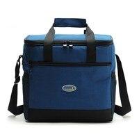 Waterproof Insulated Cooler Bag Baby Diaper Mlik Bottles Food Supplement Insulation Bag Outdoor Camping Picnic Shoulder