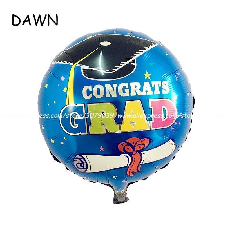 ΞAl por mayor 50 unids/lote 18 pulgadas graduación globos para la ...