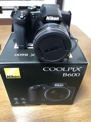 New Nikon Coolpix B600 16.0 MP Digital Camera 60x Zoom Full-HD WiFi /  Bluetooth - BLACK