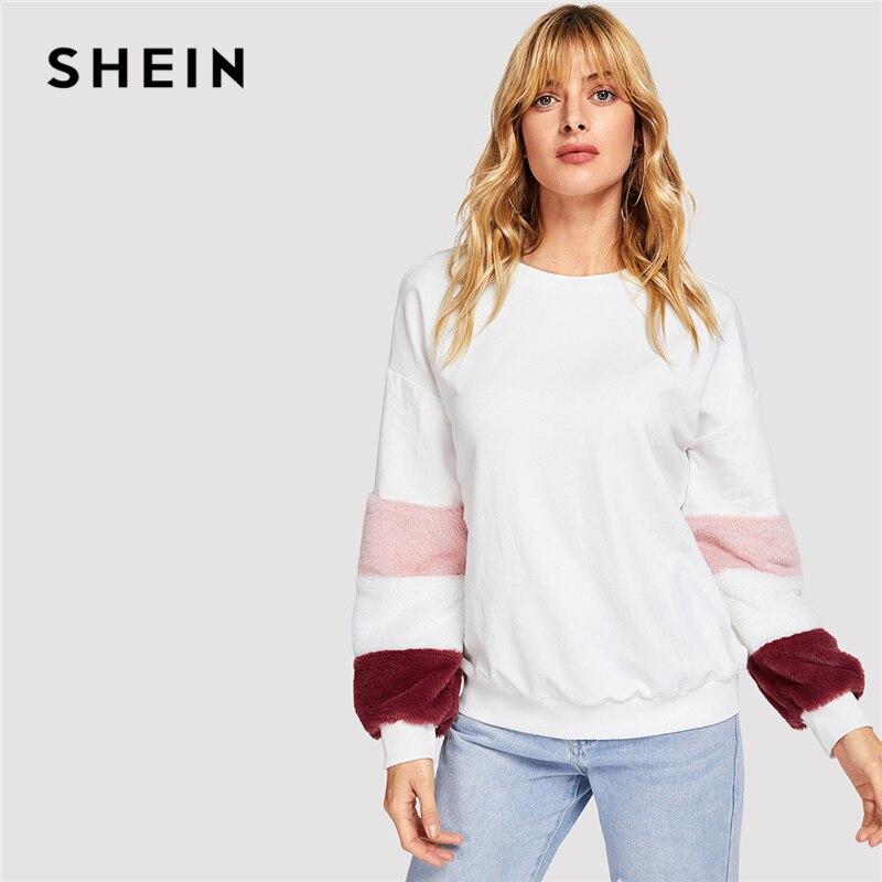 Aliexpress.com: Comprar SHEIN blanco elegante Preppy Color