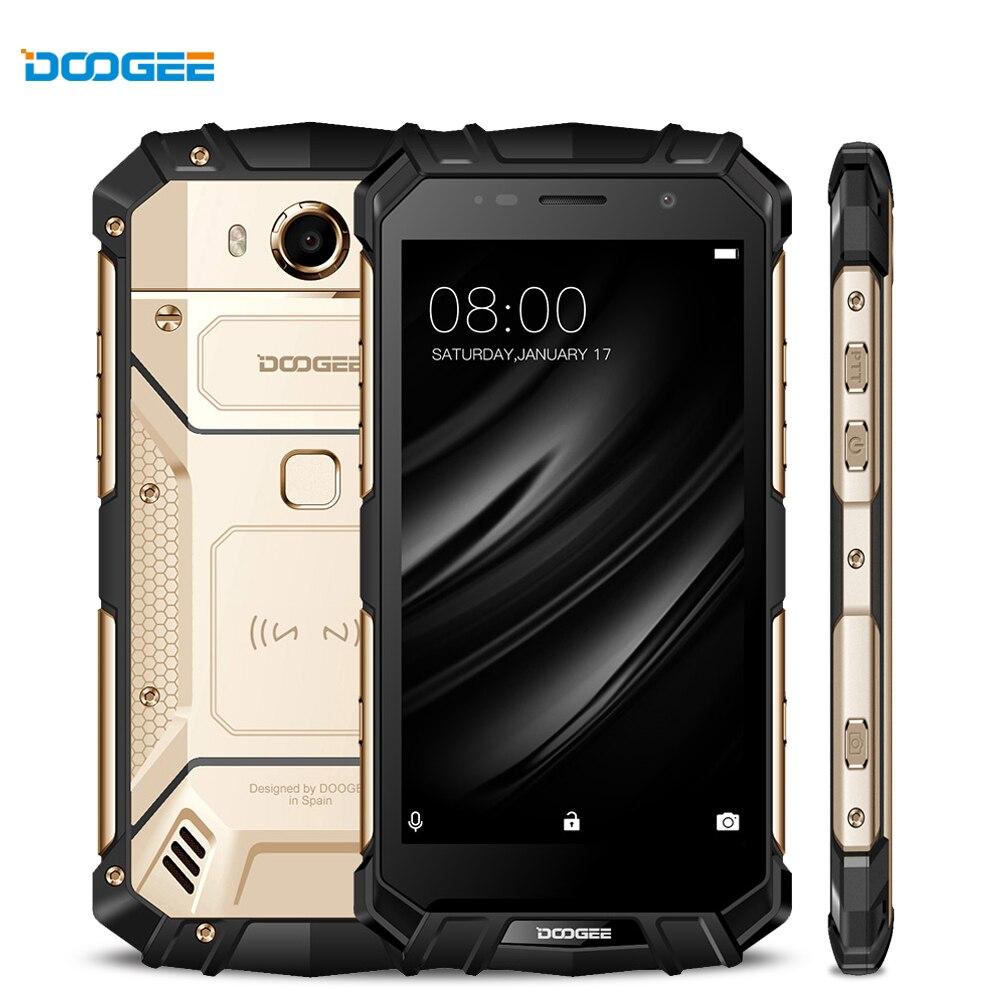 DOOGEE S60 Reale IP68 Waterpoof Smartphone Senza Fili Carica 12V2A Carica Rapida Octa Core 6 gb 64 gb Smartphone 21.0MP Macchina Fotografica telefono