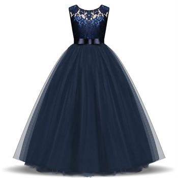 70a23c765 5-14 años vestido de niños para niñas boda tul largo vestido de ...
