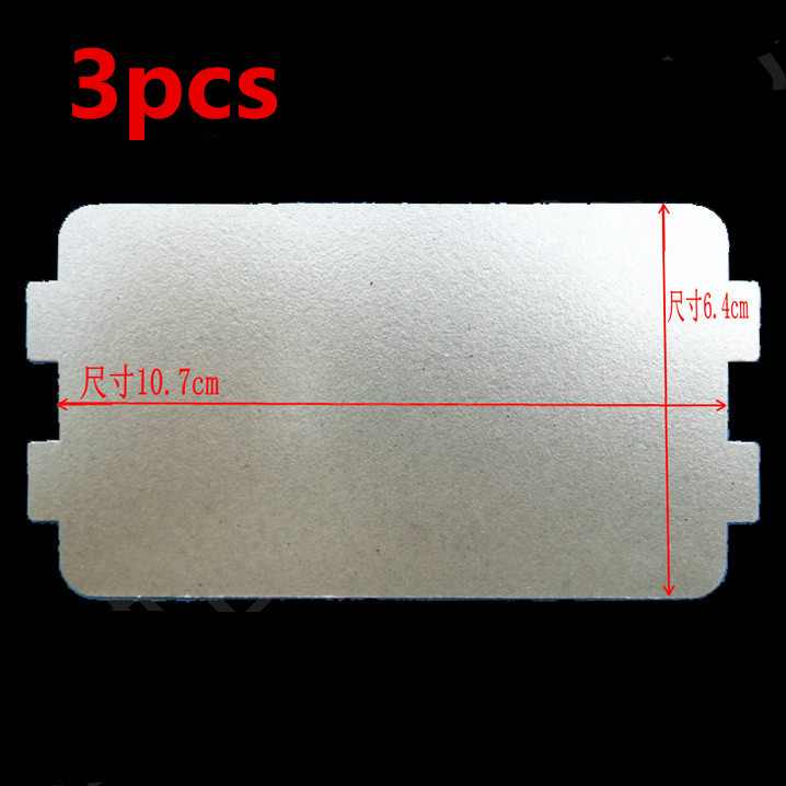 3pcs microwave ovens mica microwave  mica sheets microwave oven plates 10pcs lot high quality microwave oven repairing part 13 x 12cm mica plates sheets for galanz etc microwave