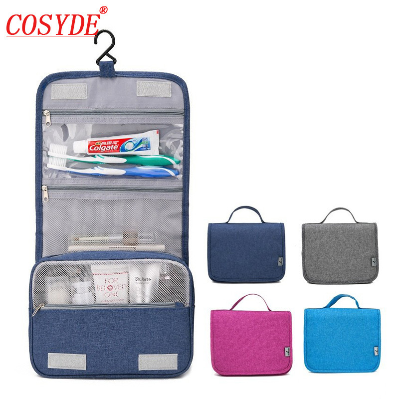 Women Travel Portable Beautician Cosmetic Bags Men High Quality Makeup Toiletry Bag Bathroom Hanging Organayzer Make Up Wash Bag цена