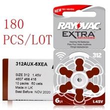 180 Pcs/Lot Hearing Aid Batteries 13A PR48 ZA13 /312A PR41 ZA312/10A PR70 ZA10 Zinc Air Battery For Rayovac Extra Hearing aids