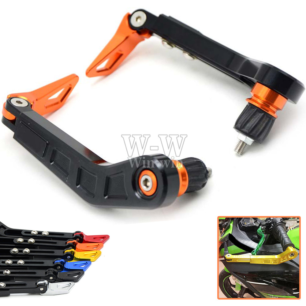Universal 7/8 22mm Motorcycle Handlebar Brake Clutch Levers Protector Guard for KTM SX EXC 250 125 690 390 DUKE fxcnc universal stunt clutch easy pull cable system motorcycles motocross for yamaha yz250 125 yz80 yz450fx wr250f wr426f wr450