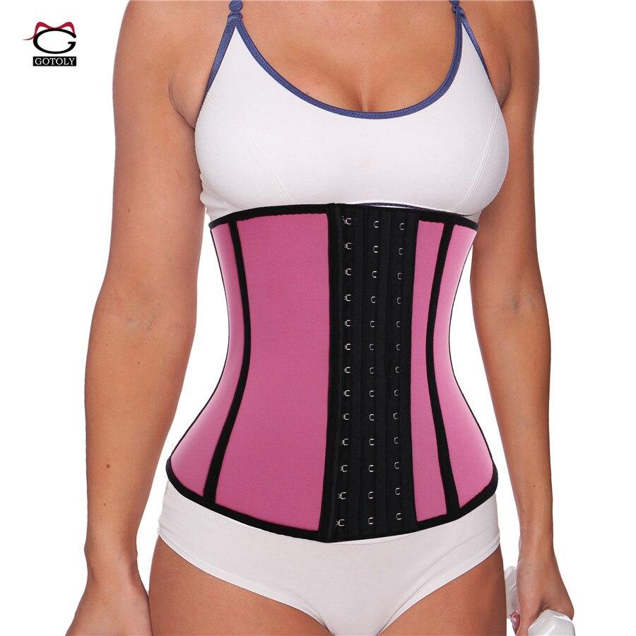902bc233c46 Bafully Modeling Strap Neoprene Slimming Belt Hot Shapers Sweat Waist  Trainer Corset for Women Bodysuit Tummy