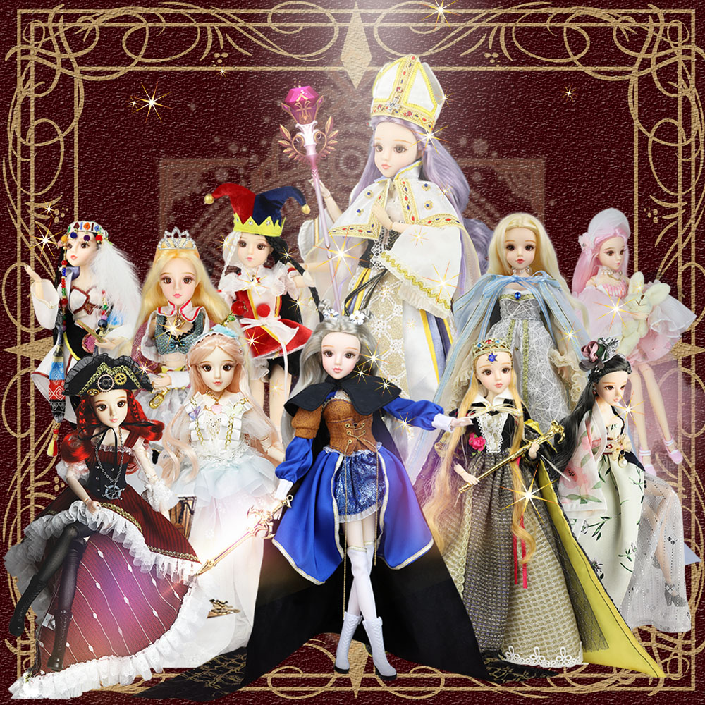 BJD 1 6 doll MMGirl Tarot Series 30cm Joint body doll dream gift toy for children