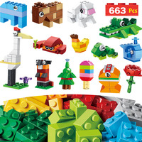 Classic Huge Creative Box Blocks Compatible LegoINGLYS Animal Creator Bricks Toys Bricks Mini Action Figures Enlighten Toy