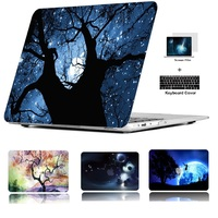 """keyboard plastic case For Apple Macbook Air 11 13 Pro Retina 12 13 Touch Bar 13 15"""" Plastic Hard Case Cover Laptop Shell+Keyboard Cover+Screen Film (4)"""