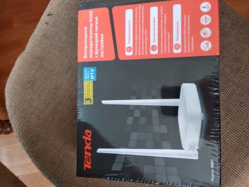 Wi-Fi роутер Tenda N301 (N300)  2,4 ГГц