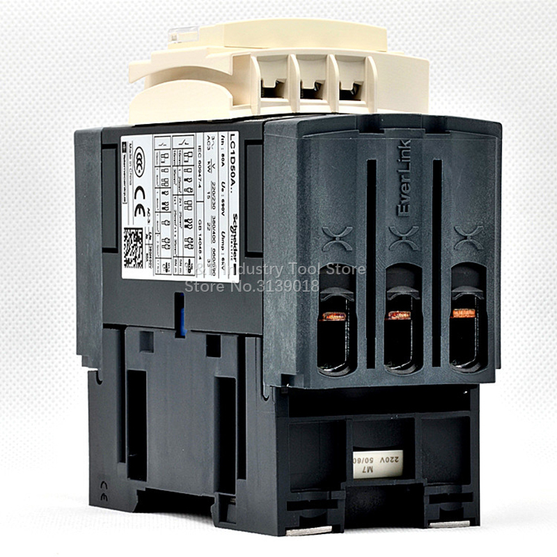 Schneider Telemecanique Contactor LC1D50F7C 110VAC 50A New in box