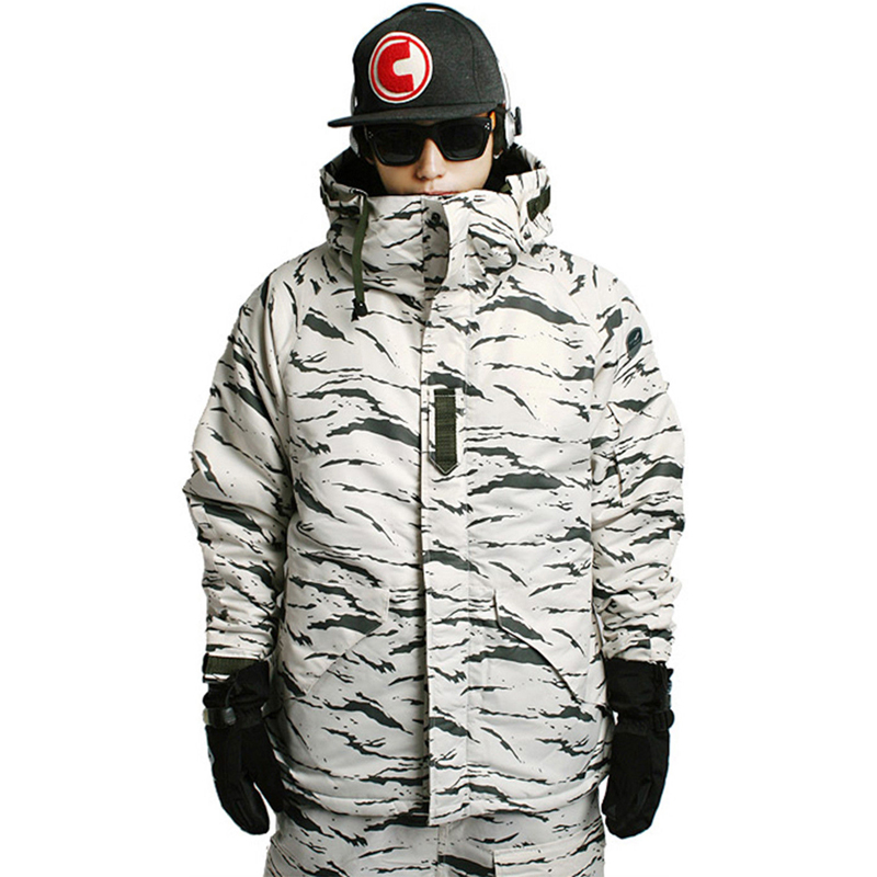 Nouvelle Édition Southplay Hiver Étanche Ski Snowboard (Veste OU Pantalon)-Blanc Sable