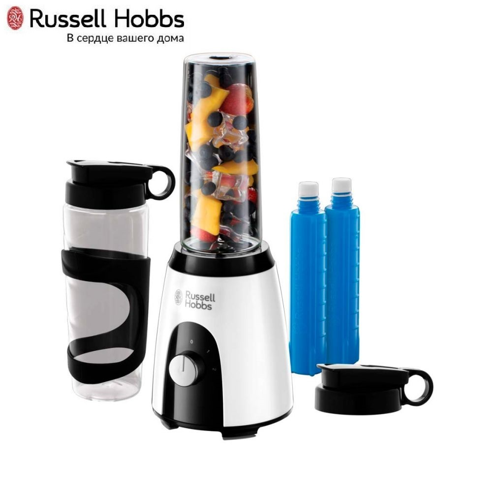 Blender stationary Russell Hobbs 25161-56 Blender smoothies kitchen Juicer Portable blender kitchen Cocktail shaker Chopper Electric Mini blender blender русификатор