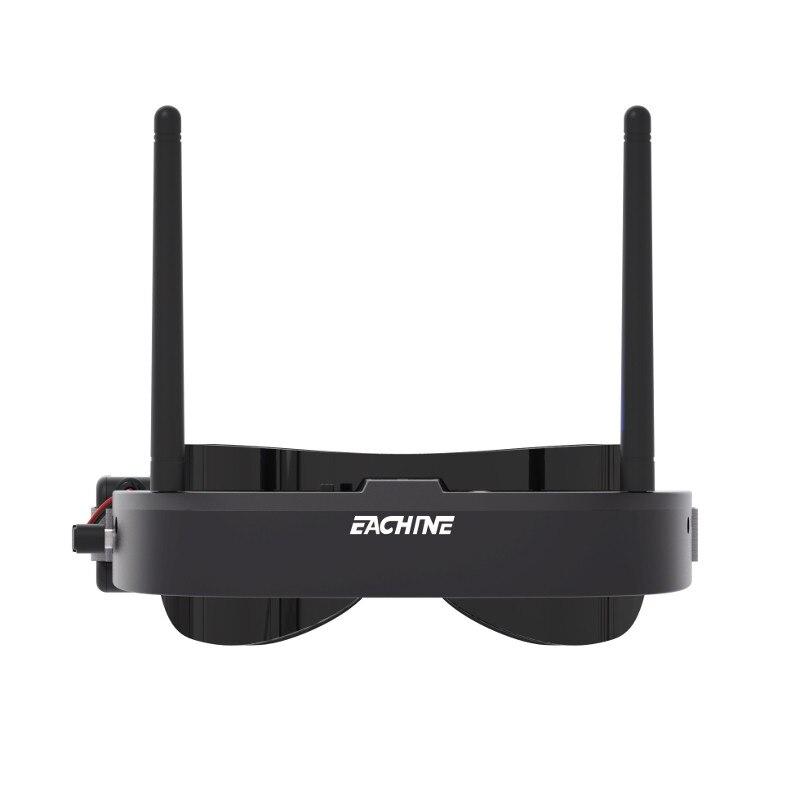 Eachine EV100 720*540 5.8G 72CH FPV lunettes avec double antennes ventilateur 7.4 V 1000 mAh batterie - 2