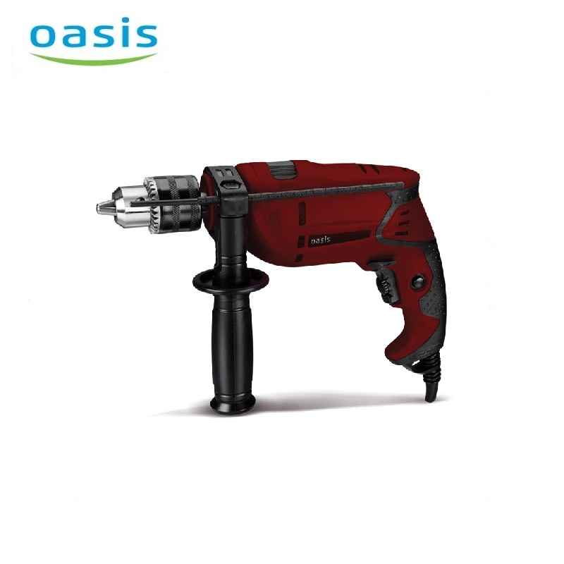 Electric hammer drill Oasis DU-71 Multifunction Handheld Impact Electric Drill with Positive Reversal Screwdriver Tapping electric hammer drill oasis pr 100 hole punching rotary tool drilling holes multifunctional hammer dual purpose