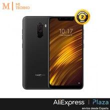 Глобальная версия, Xiaomi PocoPhone F1 6 ГБ и 64 ГБ, Цвет черный, Google Play и кастильское установлен, qualcom 845, Камера de 20 МП