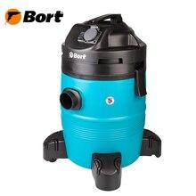 Пылесос для сухой и влажной уборки Bort BSS-1335-Pro (Мощность 1400 Вт, вместимость пылесборника 35 л, длина шланга 2 м, функция выдува и сбора жидкости, автоотключение, подключение электроинструмента, длина кабеля 6