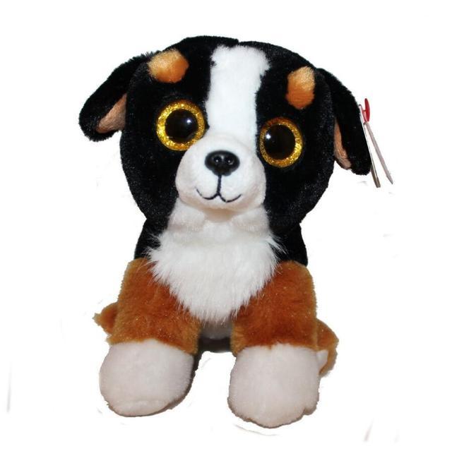 6 Ty Beanie Boo S Roscoe The Bernese Mountain Dog 15cm Big Eye