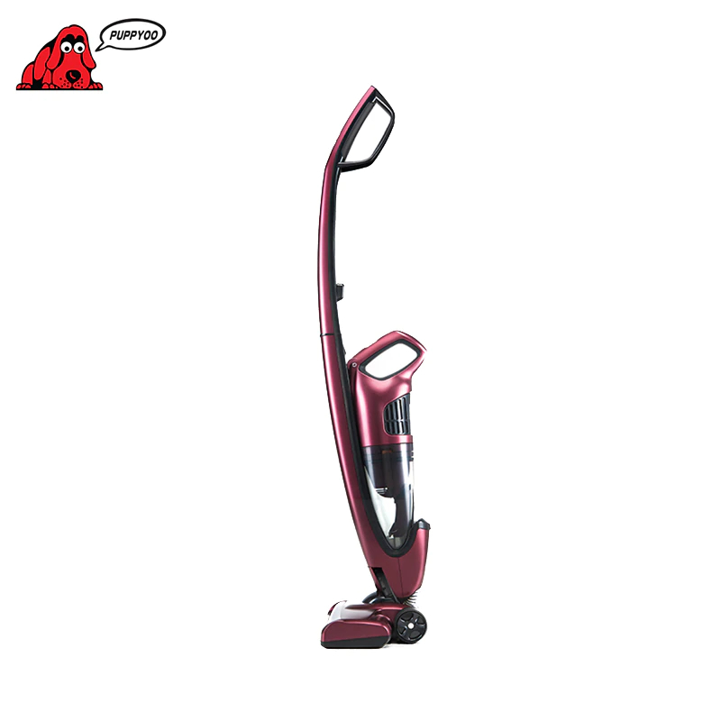 Vertical Wireless Vacuum Cleaner Puppyoo WP511 For Home Portable Rod Powerful Vacuums Dry Cleaning Handheld Dust Collector vacuum cleaner bosch bch6ath18 home portable rod powerful vacuum cleaner handheld dust collector stick zipper