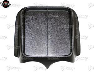 Image 3 - Console Op Voorpaneel Voor Lada Largus 2011 Abs Plastic Organizer Functie Pad Accessoires Krassen Auto Styling Tuning