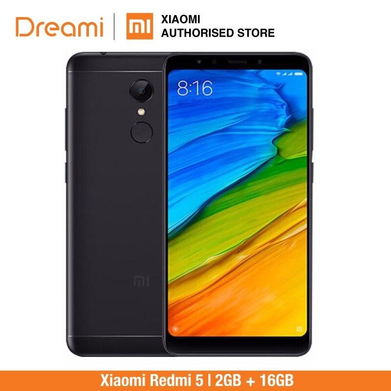 Version globale Xiaomi Redmi 5 16 GB Rom 2 GB Ram (boîtier neuf et scellé)