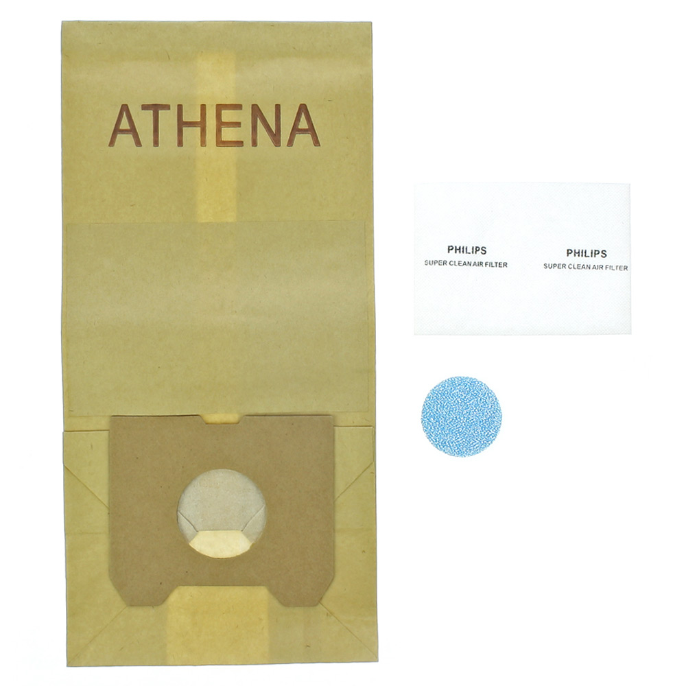 10x Aspirateur Sacs Papier Pour Philips HR 6815 Triathlon