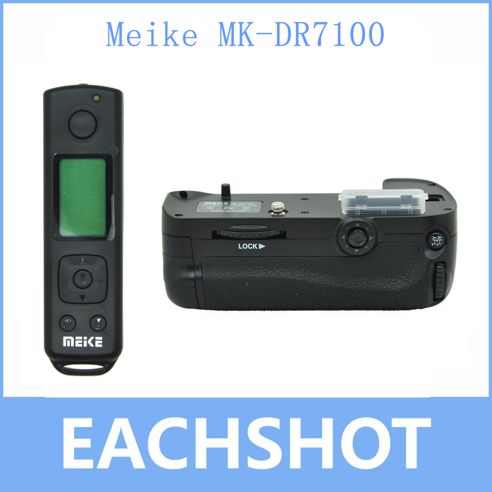Meike MK DR7100 Remote Control Battery Grip For Nikon D7100 D7200 as MB D15