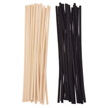 20pcs 4mmX20cm Extra Thick Sticks Reed Oil Diffuser Replacement Refill Rattan DIY Home Decoration Wholesales