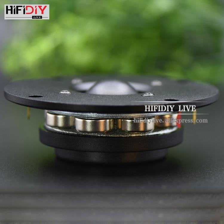 HIFIDIY LIVE hifi 4 inch 4 5 Tweeter Speaker Unit Silk membrane 8OHM 30W Treble Loudspeaker